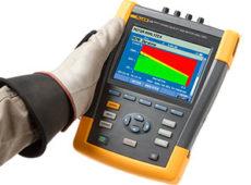 Анализатор качества электроэнергии и работы электродвигателей Fluke 438-II  запросить стоимость