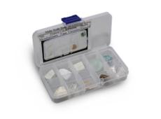 Шкала Мооса - набор эталонных минералов из 10 шт.  запросить стоимость