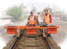 Многоканальный георадарный комплекс для пешеходной съемки на железной дороге до 8 км/ч  запросить стоимость