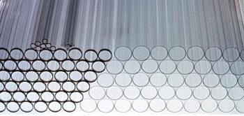 Трубка кварцевая, наружный диаметр - 100 мм  запросить стоимость