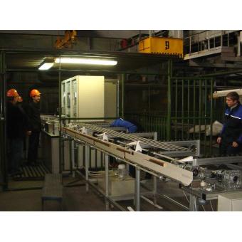 Автоматизированная установка ультразвукового контроля особо тонкостенных бесшовных труб УСКТ-2