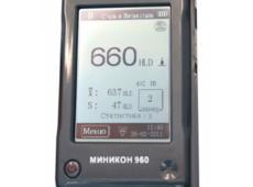 Динамический твердомер МИНИКОН 960  запросить стоимость