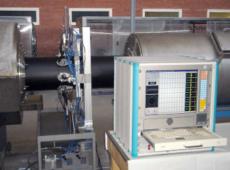 Система ультразвукового контроля толщины стенки полиэтиленовой трубы в процессе производства 8 канальная УД-8К v.2  запросить стоимость
