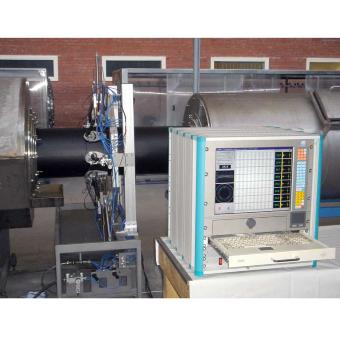 Система ультразвукового контроля толщины стенки полиэтиленовой трубы в процессе производства 8 канальная УД-8К v.2