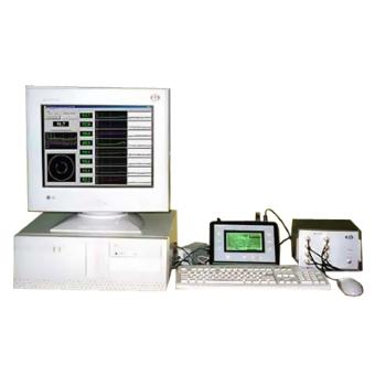 УД-8К - система ультразвукового контроля толщины стенки полиэтиленовой трубы в процессе производства