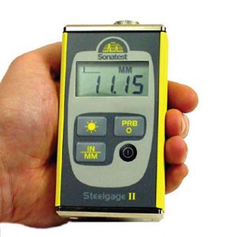 Ультразвуковой толщиномер Steelgage II  запросить стоимость