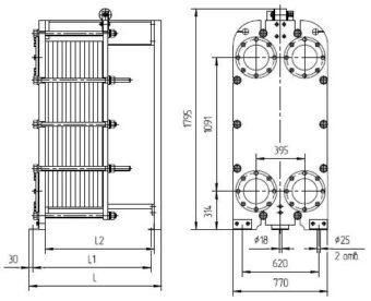 Инструкция теплообменников ридан Пластины теплообменника Машимпэкс (GEA) LWC 150L Шахты