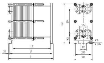 Цена теплообменника ридан нн 07 Кожухотрубный теплообменник Alfa Laval ViscoLine VLA 25/38/85/102-6 Шадринск