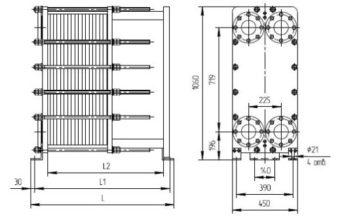 Ридан нн 21 30 Кожухотрубный конденсатор Alfa Laval ACFL 300/252 Рязань