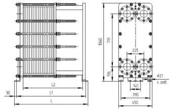 Нн 22 теплообменник Уплотнения теплообменника Alfa Laval AQ10-FGS Махачкала