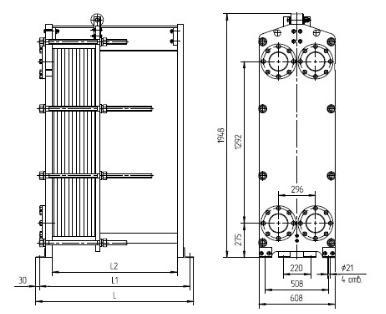 Теплообменник ридан нн 62 Подогреватель сетевой воды ПСВ 500 3-23 Абакан