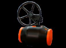 Стальные шаровые краны Бивал с механическим редуктором АДЛ  запросить стоимость
