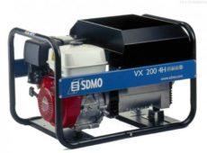 Сварочный агрегат VX 200/4H (бензин SDMO)  запросить стоимость