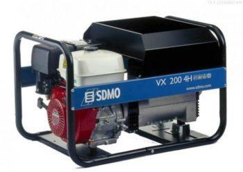 Сварочный агрегат VX 220/7,5Н (бензин SDMO)  запросить стоимость