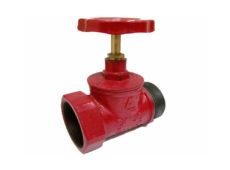 Клапан пожарный чугунный КПКП прямоточный (муфта-цапка)  запросить стоимость