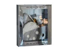 Шкаф пожарный Престиж ШПК-310НО (навесной открытый) зеркальная нержавейка  запросить стоимость