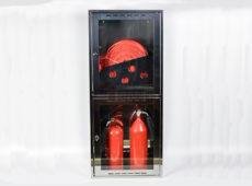 Шкаф пожарный из зеркальной нержавейки Престиж-03-НО [ШПК-320] (навесной открытый)  запросить стоимость