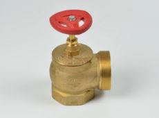 Клапан пожарный латунный КПЛМ угловой 90° (муфта-цапка) с датчиком положения  запросить стоимость