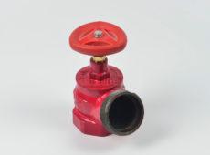 Клапан пожарный чугунный КПЧ угловой 125° (муфта-цапка)  запросить стоимость