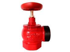 Клапан пожарный чугунный КПЧМ угловой 90° (муфта-цапка)  запросить стоимость