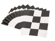 Шахматная доска для определения укрывистости 90х120 мм (Комплект 50 шт.)  запросить стоимость