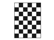 Шахматная доска для определения укрывистости 180х240 мм  запросить стоимость