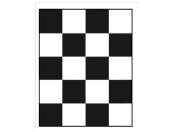 Шахматная доска для определения укрывистости 180х225 мм  запросить стоимость