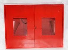 Щит пожарный металлический закрытого типа (с комплектующими)  запросить стоимость