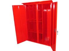 Шкаф для пожарного поста двустворчатый (1000х1300х500мм)  запросить стоимость