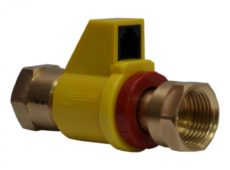 Клапан запорный с электромагнитным управлением газовый КЗЭУГ-Б  запросить стоимость