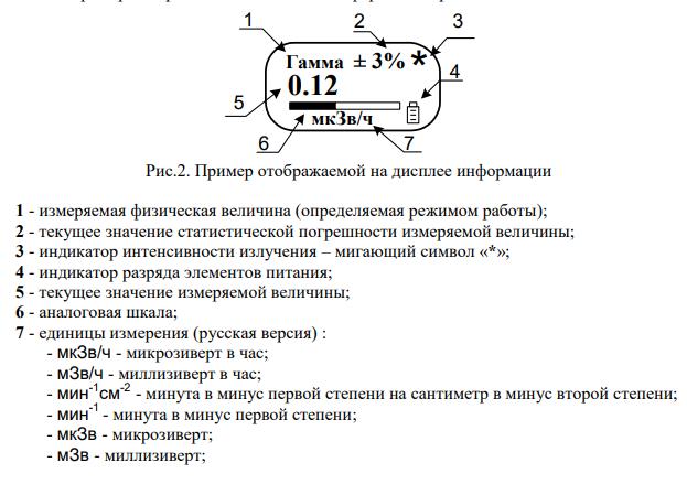 Дозиметры МКС-01СА1 профессиональные (улучшенные)  запросить стоимость