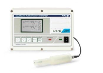 Анализатор растворенного кислорода МАРК-409 (гидропанель ГП-409)  запросить стоимость