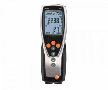 Testo 735-1 - 3-х канальный термометр  запросить стоимость