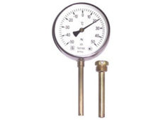 Термометры биметаллические, технические, промышленные, без резьбовые  запросить стоимость