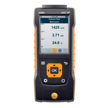 Прибор для измерения скорости и оценки качества воздуха Testo 440 dP  запросить стоимость