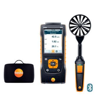 Комплект с крыльчаткой 100 мм с Bluetooth Testo 440  запросить стоимость