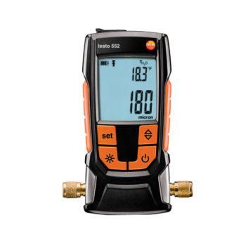 Высокоточный цифровой вакуумметр с Bluetooth Testo 552  запросить стоимость