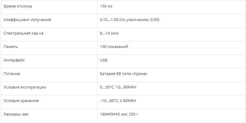 ИНФРАКРАСНЫЙ ТЕРМОМЕТР СЕМ DT-8867H  запросить стоимость