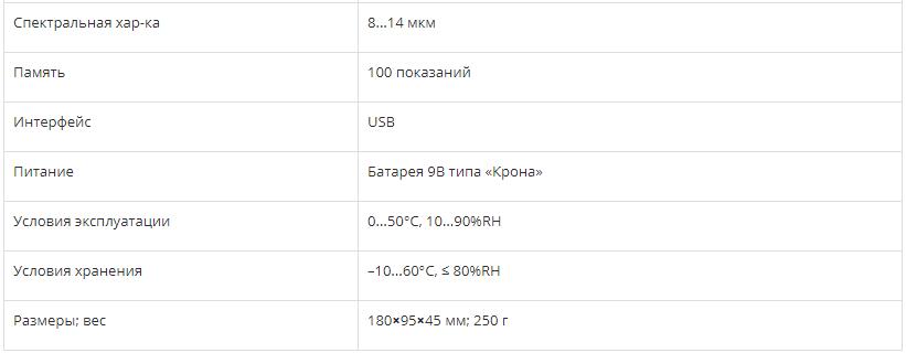 ИНФРАКРАСНЫЙ ТЕРМОМЕТР СЕМ DT-8868H  запросить стоимость